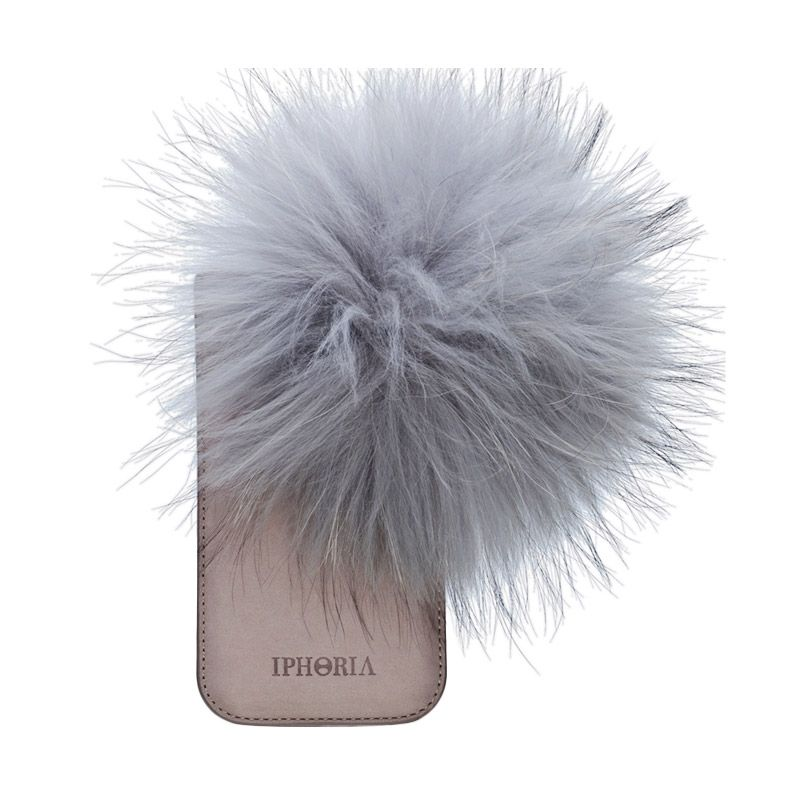 IPHORIA Raccoon Fur Gray Casing for iPhone 6
