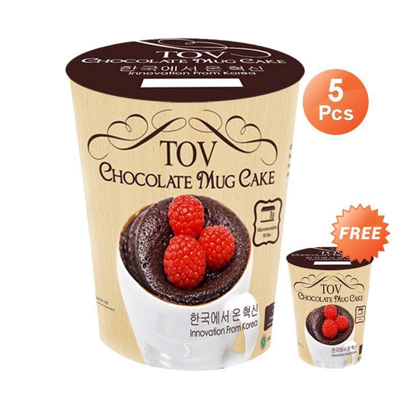 Isacafood Chocolate Mug Cake Tepung Instant [Paket 5 Pcs]