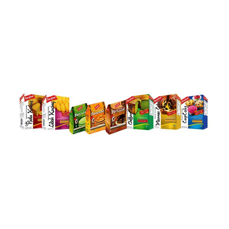 Isacafood Paket Tepung Instant Cepat Saji [Paket B] + Free Bonus