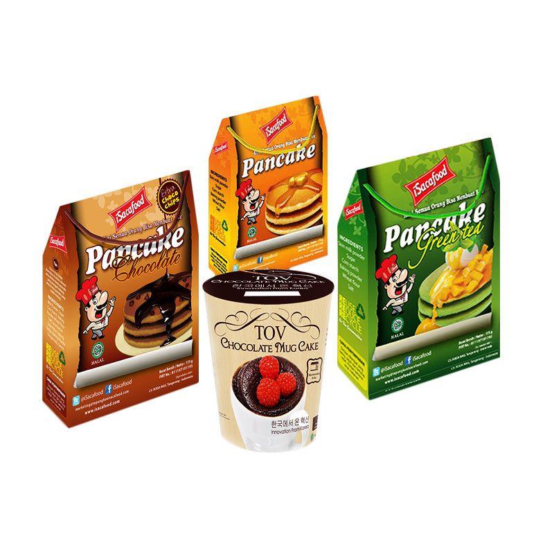 Isacafood Paket Tepung Instant Cepat Saji [Paket C] + Free Bonus