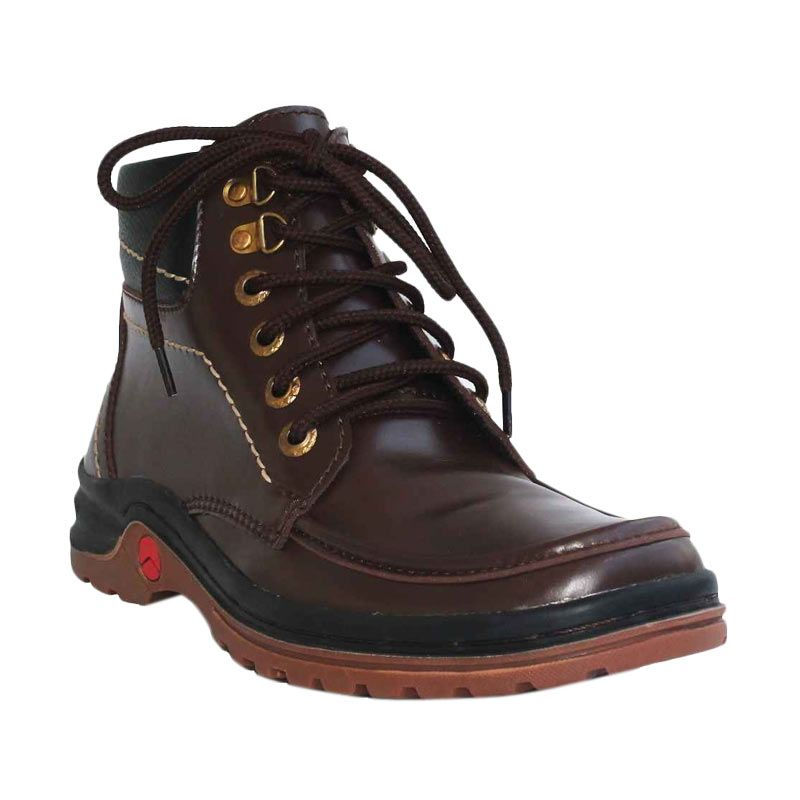 D-Island Shoes Boots Trekking Northwest Dark Brown