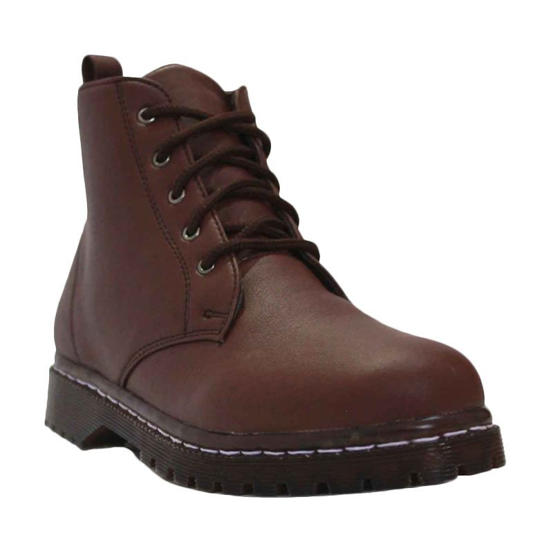 D-Island Shoes Women Boots Retro Cute Brown
