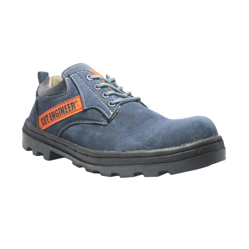 Cut Engineer Safety Boots Low Outdoor Leather