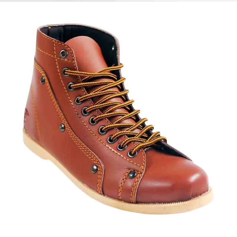 Island Shoes Casual Higt Brown