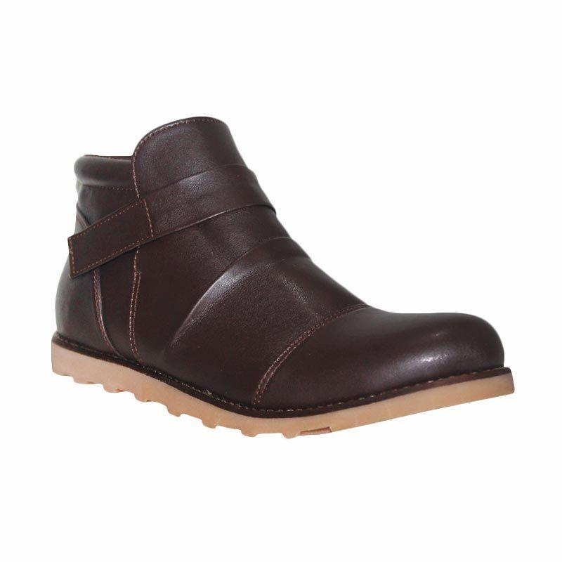 Island Shoes Slip On Boots Dark Brown