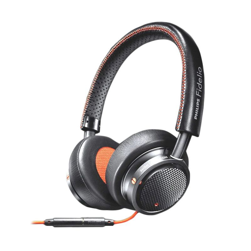 Philips Fidelio M1MKII Hitam Headset
