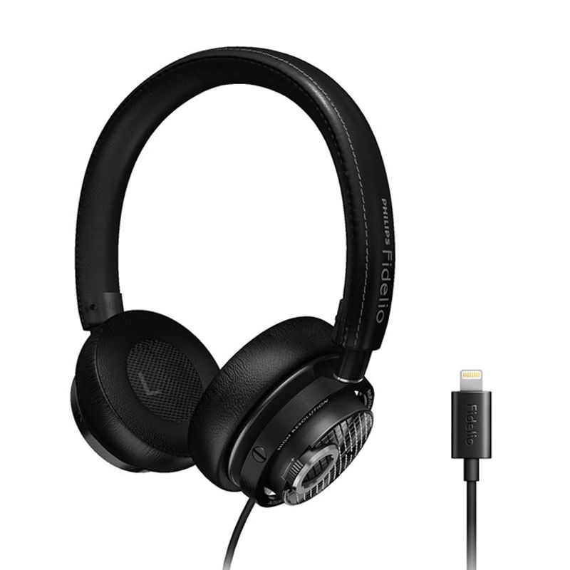 Philips Fidelio M2L Hitam Headset