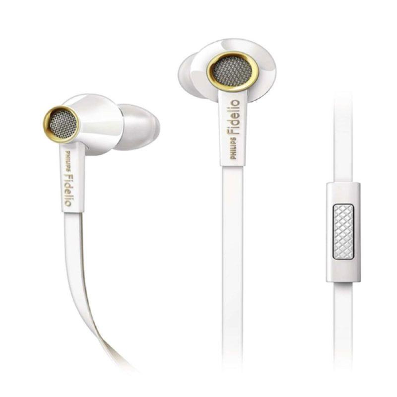 Philips Fidelio S2 WT Putih Earphone