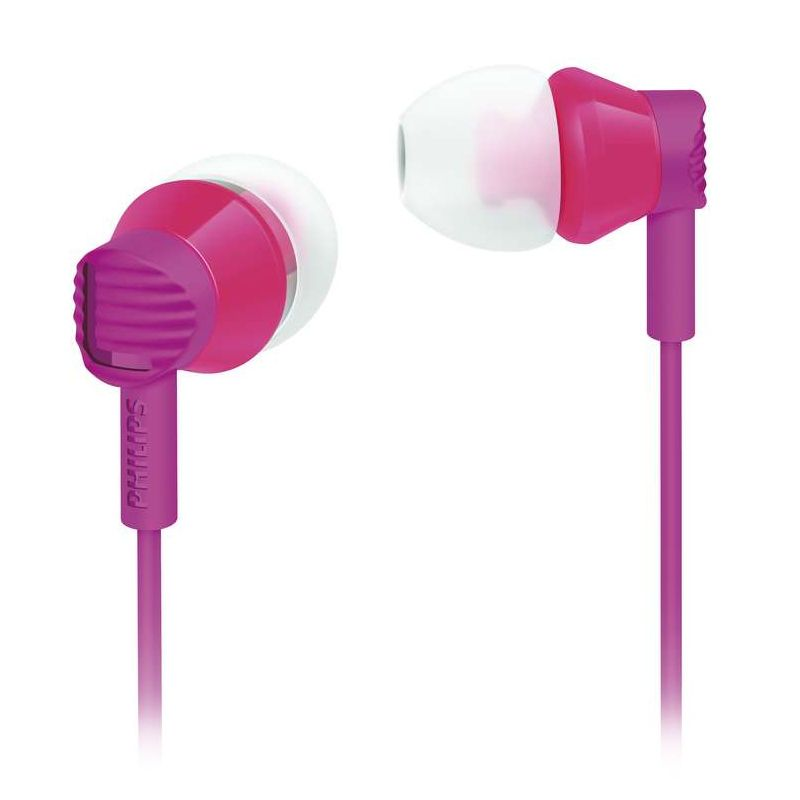 Philips She 3800PK Ungu Earphone