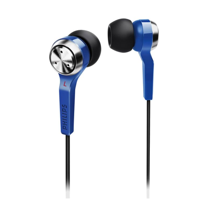 Philips She 8500BL Biru Earphone