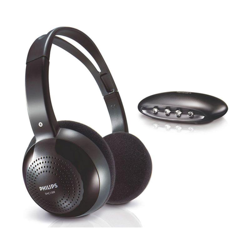 Philips Wireless Wi-Fi SHC2000 Hitam Headphone