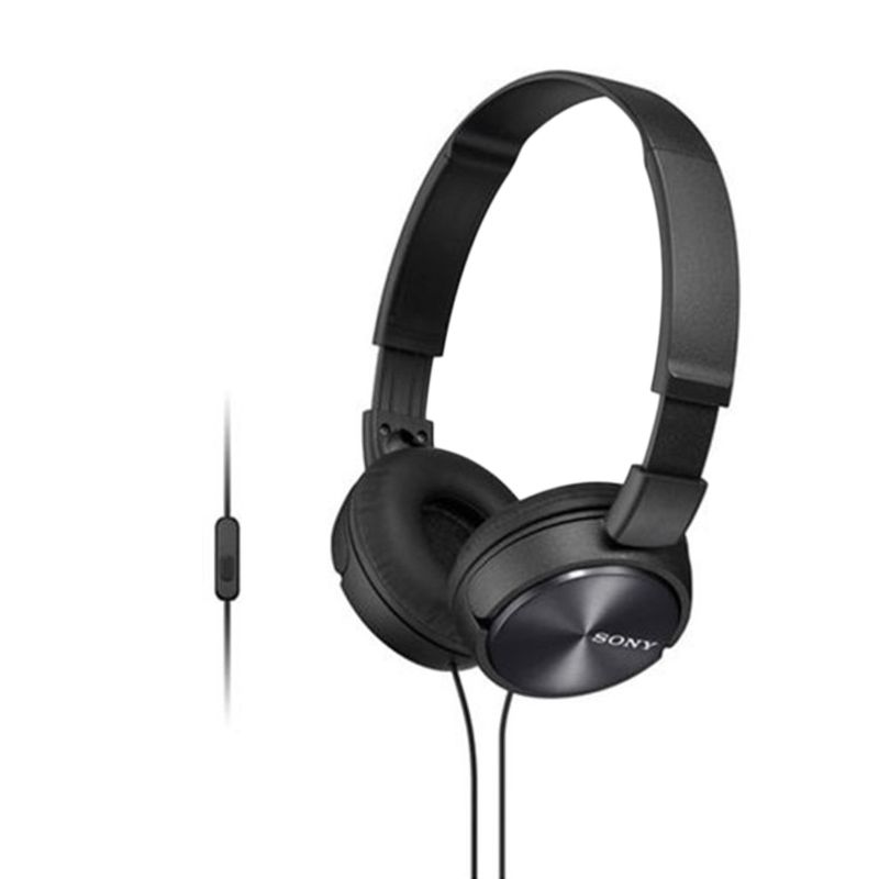 Sony MDR-ZX310AP Hitam Headphone