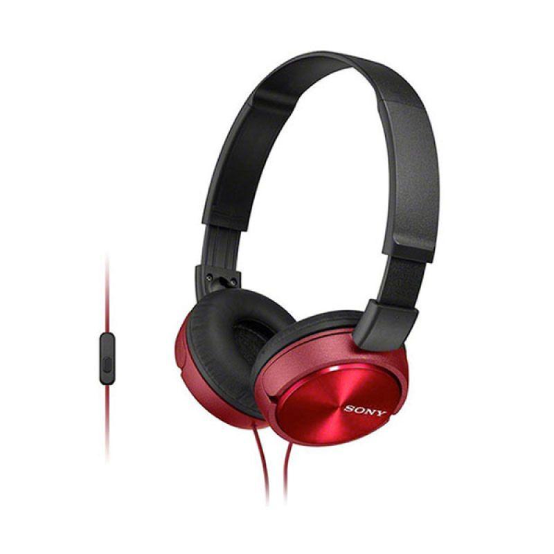 Sony MDR ZX310AP Merah Headset