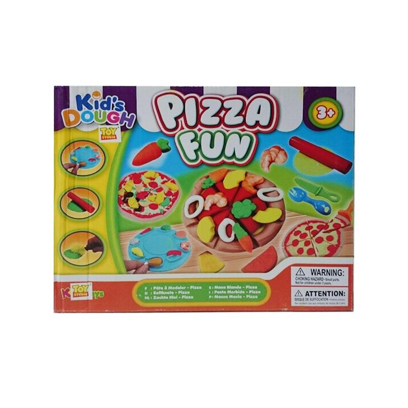 Istana Bintang Kid's Dough Pizza Fun Mainan Anak