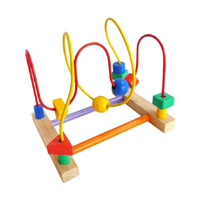 Istana bintang Mainan Edukasi Wire Game 2 Line