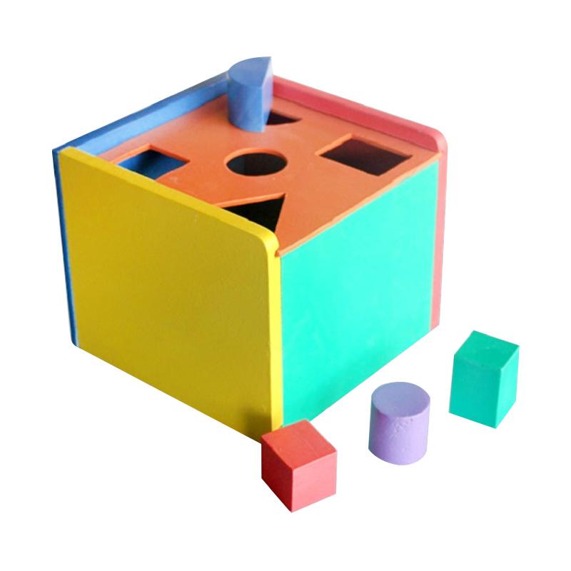Istana Bintang Mainan Kayu Kotak Pos 1 Papan