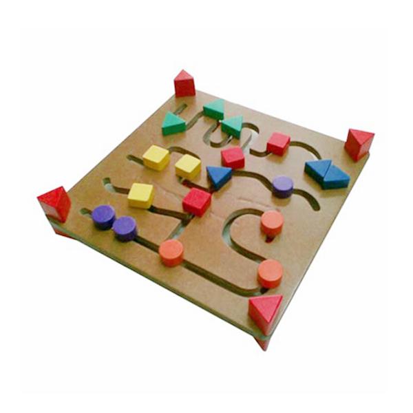 Istana Bintang Mainan Kayu Maze 2 Muka Mainan Anak