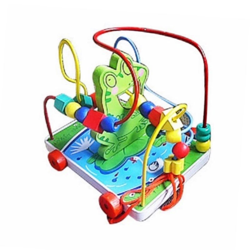 Istana Bintang Mainan Kayu Wire Game Kodok