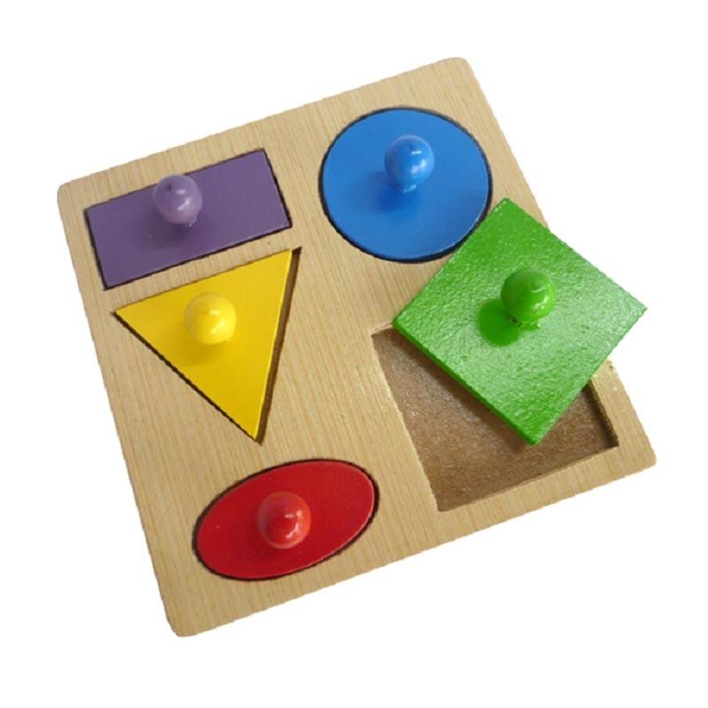 Istana Bintang Puzzle Geo Baby Knob Mainan Anak