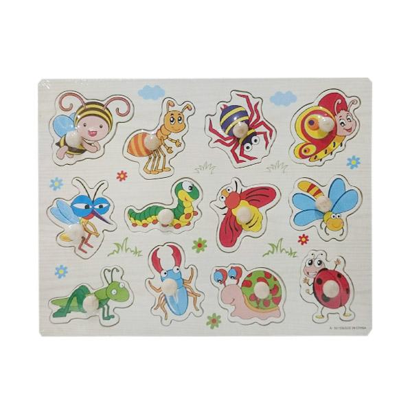 Istana Bintang Puzzle Insect Knob Mainan Anak