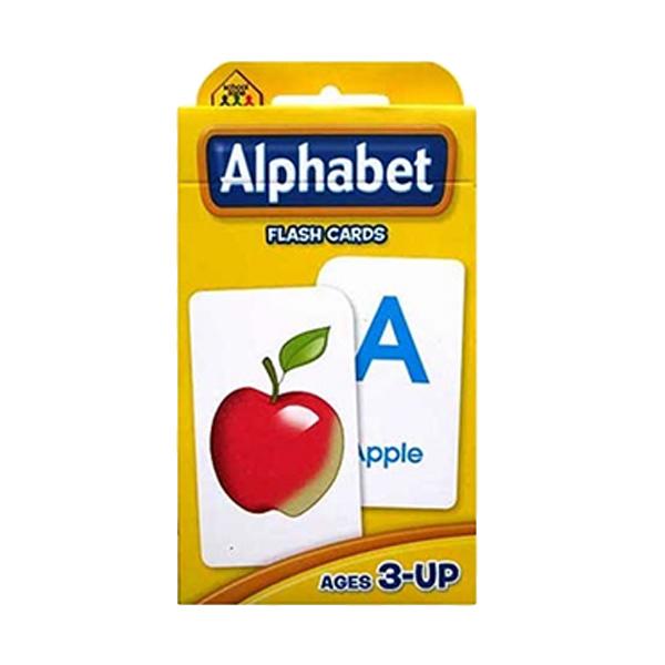 Istana Bintang School Zone Alphabet Flash Cards