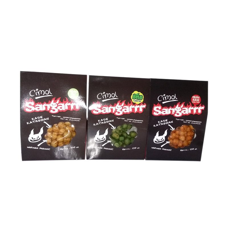 Cimol Sangar Paket 1 [3 Pcs]