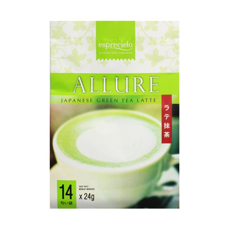 Esprecielo Allure Japanese Green Tea Latte Minuman Instant [14 Sachet]