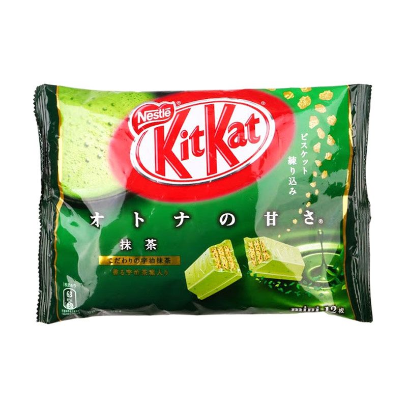 Kitkat Green Tea Biskuit [12 Pcs]