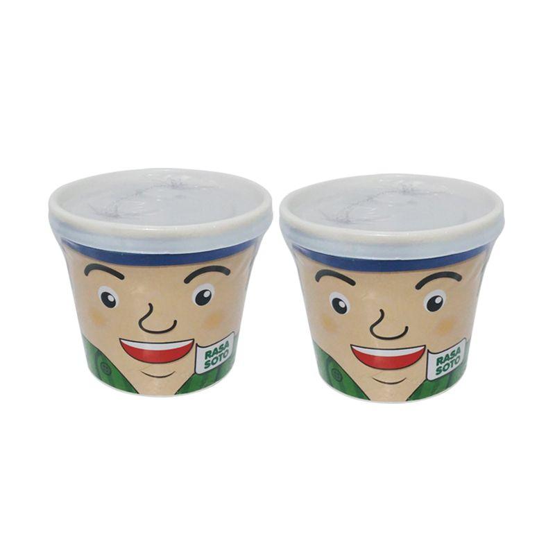 Lakoca Cuanki Instan Rasa Soto Makanan Instan [2 Cup]