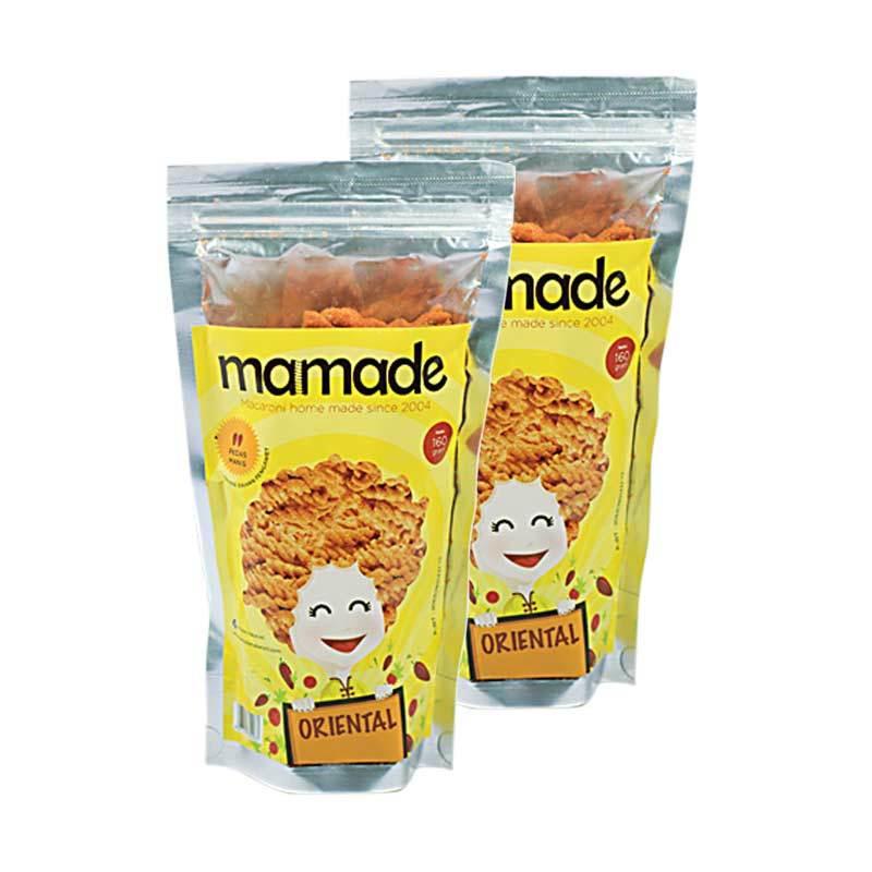 Mamade Makaroni Jagung Bakar Cemilan 160gr Paket 3 Pcs Daftar Source · Mamade Makaroni Oriental Cemilan 2 Pcs
