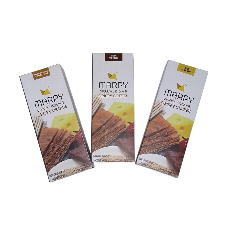 Marpy Crispy Crepes Mix Paket 1 [3 Pcs]