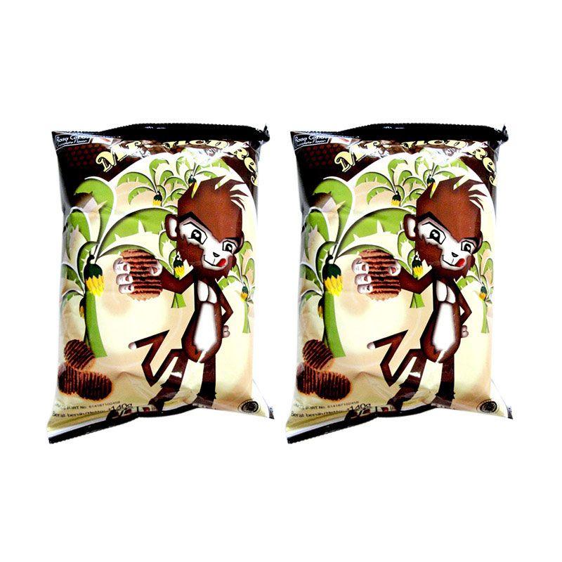 Mr. Monkey Coklat Set Cemilan [2 Pcs]