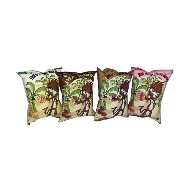 Mr. Monkey Paket 1 Cemilan [4 Pcs]