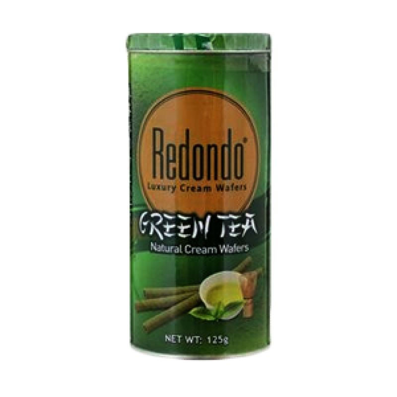 Redondo Luxury Cream Green Tea Wafer [2 Pcs/150 gr]