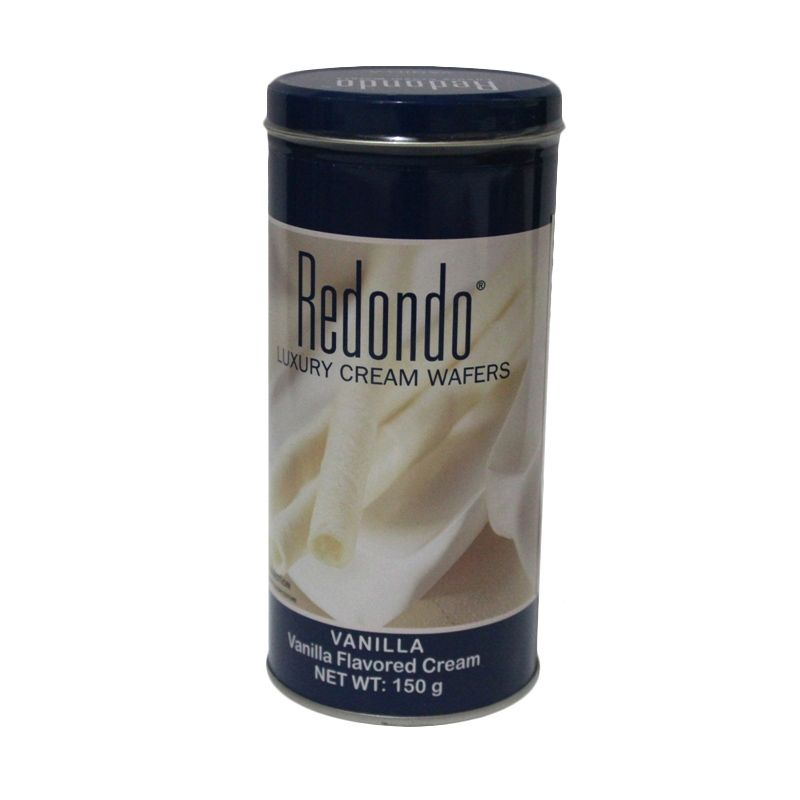 Redondo Luxury Cream Vanilla Wafer [2 Pcs/150 gr]