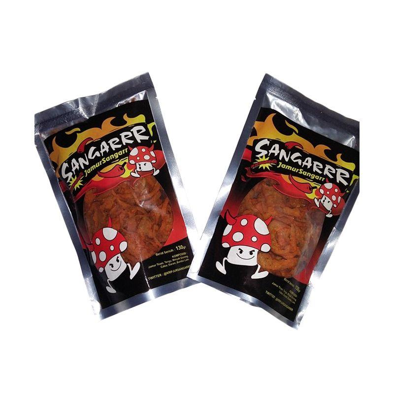 Sangarrr Jamur Spicy Cemilan Tradisional [2 Pcs]