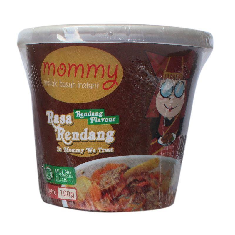 Mommy Seblak Basah Instant Rendang Pedas [5pcs]