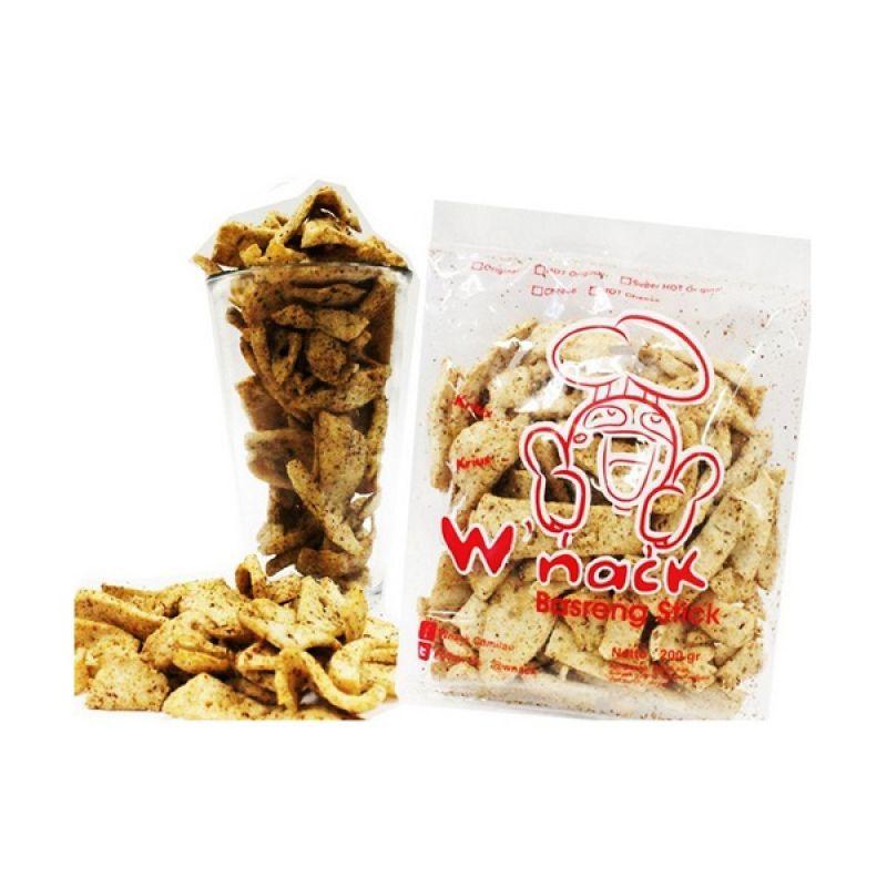 Wnack Basreng Hot Original Keripik Cemilan [2 Pcs]