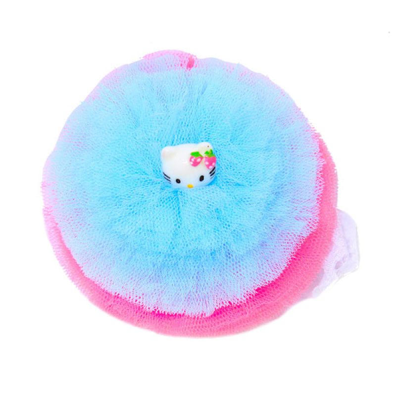 Istana Kado Hello Kitty Jaring Biru Merah Bandana