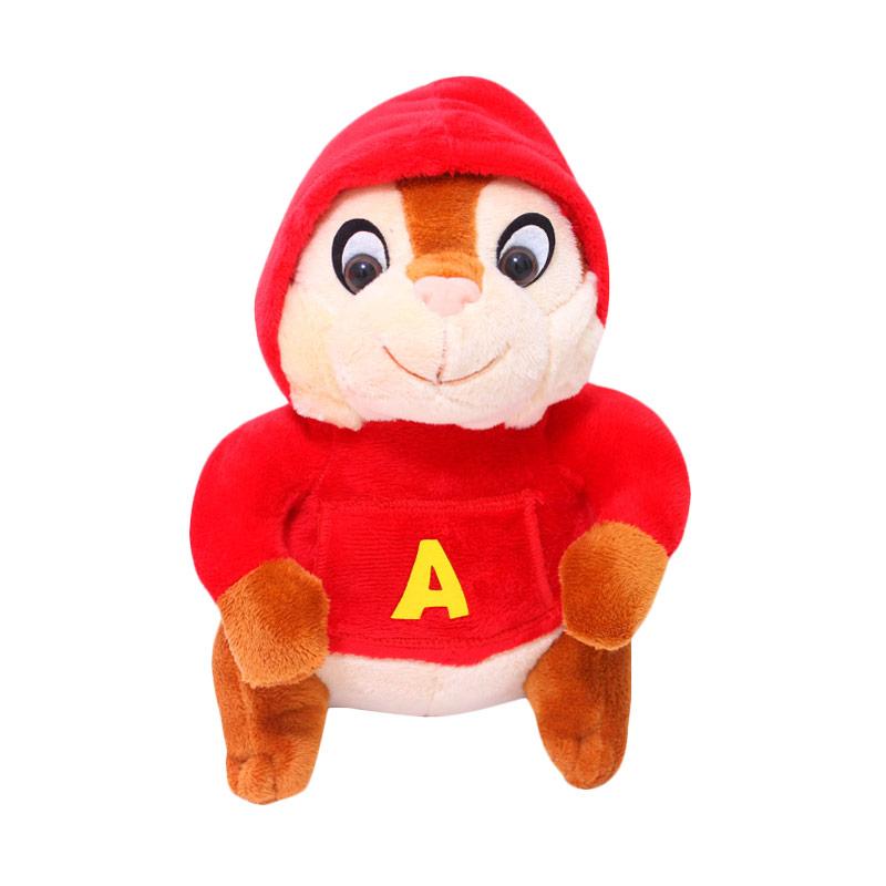 Istana Kado Alvin and the Chipmunks Boneka Alvin - Merah