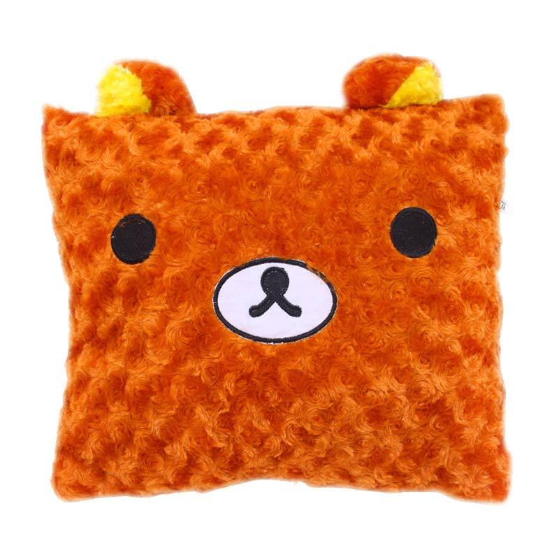 Istana Kado Kotak Binatang dan Karakter Rilakkuma Bear Bantal