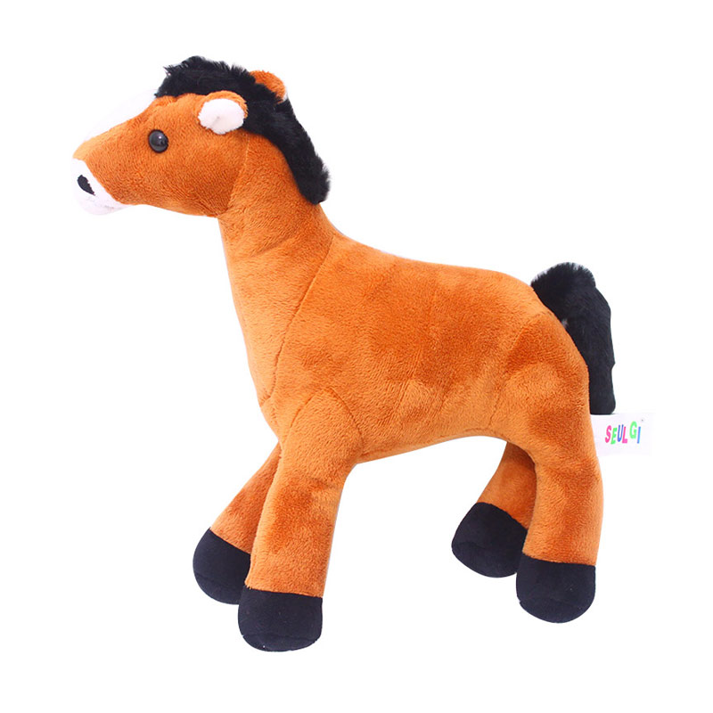 Istana Kado Boneka Binatang Kuda Horse Animal [13 inch]