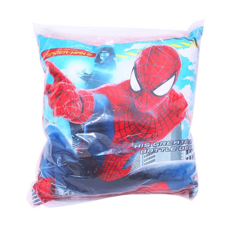 Istana Kado Kotak Cetak Spiderman Bantal