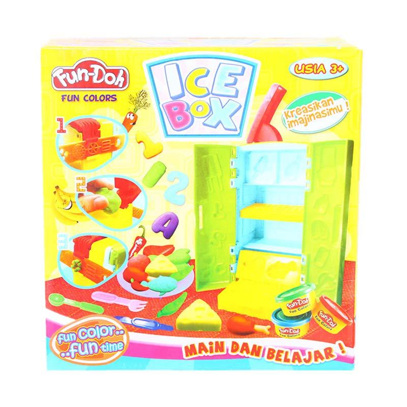 Istana Kado Lilin Fun-Doh Ice Box Mainan Edukasi Anak