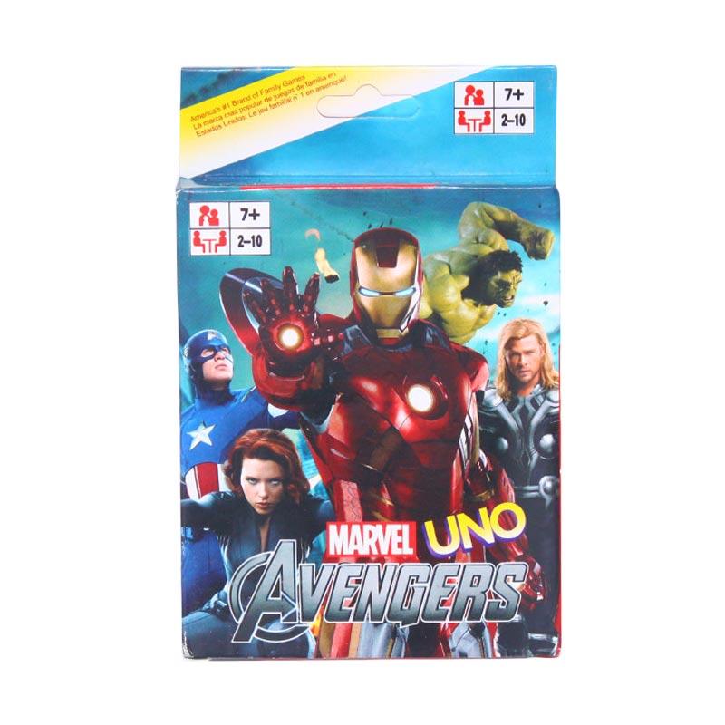 harga Istana Kado Online Kartu UNO Playing Card Game Avengers Mainan Anak Blibli.com