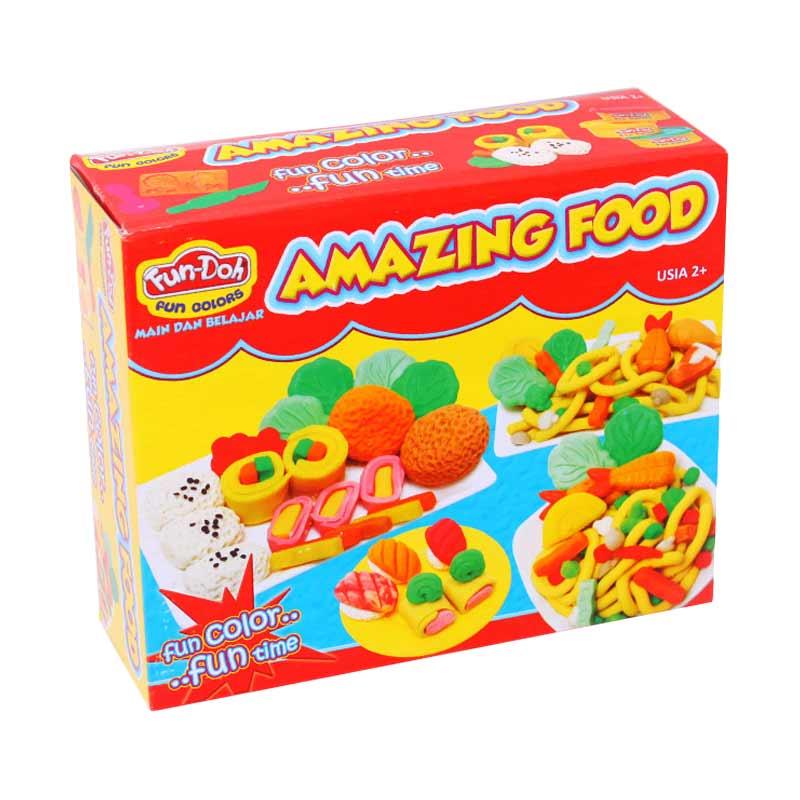 Istana Kado Fun Doh Amazing Food Mainan Anak
