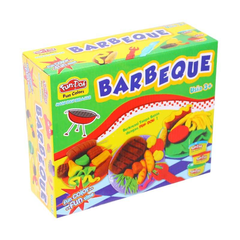 Istana Kado Online Lilin Fun-Doh Barbeque BBQ Mainan Edukasi Anak