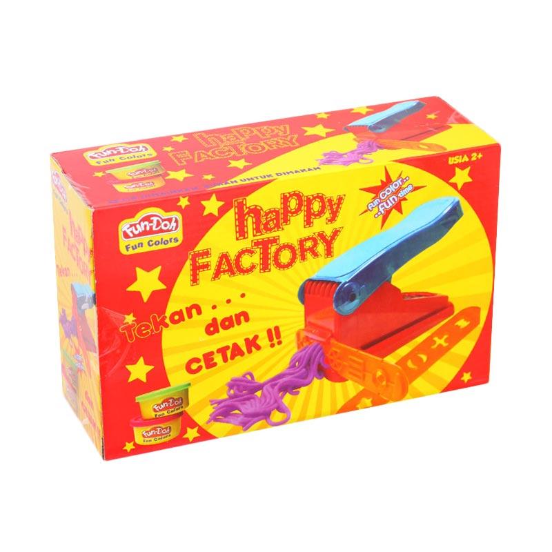 Istana Kado Fun Doh Happy Factory Mainan Anak