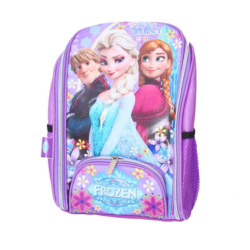 Istana Kado Online Tas Sekolah Anak Frozen Tas Ransel - Ungu