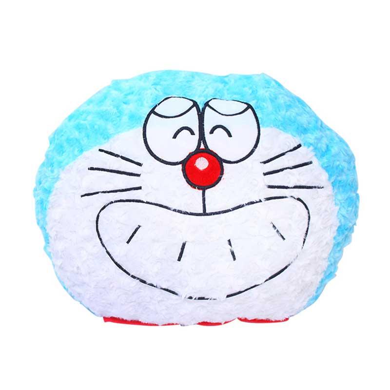 Istana Kado Oval Karakter Doraemon Rasfur Bantal